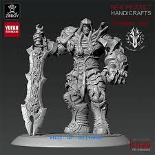 75mmH Darksiders War Killer Resin <b>Figure Model</b> Kits Unpainted ...