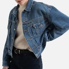 <b>New heritage</b> trucker denim jacket , turn the tide, <b>Levi's</b> | La Redoute