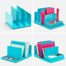 poppin aqua fin file sorter desk accessories cool and modern offices supplies workhappy chic mint teal office
