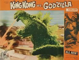 Image result for images of king kong vs godzilla