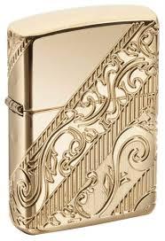 <b>Зажигалка ZIPPO</b> Armor® с покрытием Gold Plated G-29653 ...