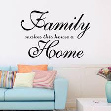 wall decal family art bedroom decor family makes this house a home wall decal vinyl wall art sticker living room bedroom home