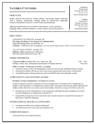 student resume s resume sample for throughout student resume college sample resume