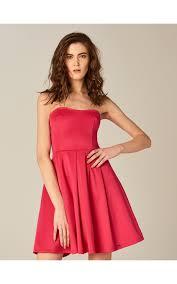 Расклешенное <b>платье без бретелек</b>, MOHITO, TO330-42X