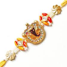 New Trending Rakhi Styles Divine Shree Ganesh Rakhi Images for free download