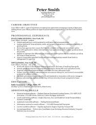 loan officer resume example   resume examples and resumeloan officer resume example