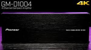 <b>Pioneer GM</b>-<b>D1004</b> - Ultra Compact 4 Channel Amplifier - 400 Watts ...