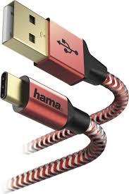 <b>Кабель Hama</b> USB <b>Type</b>-<b>C</b>-USB A, <b>1.5 м</b>, красный — купить в ...