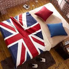 CHARMHOME Vintage Blanket Flannel Fleece Fabric Blanket Big ...