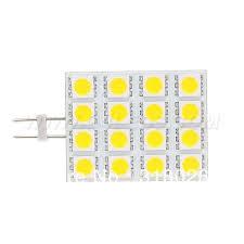Square Type <b>LED G4 Bulb</b> DC/AC10 30V <b>16</b> LEDs 5050SMD 320 ...