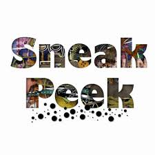 Image result for sneak peek sign