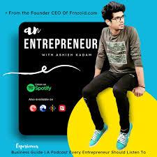 An Entrepreneur   Founder CEO Of Frnzoid