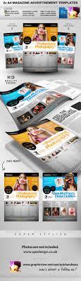 pro services a magazine ad templates print templates pro services 2 a4 magazine ad templates graphicriver a4 magazine advertisement layout 2x clean