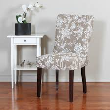Linen Dining Room Chair Slipcovers Furniture Protection In Dining Chair Covers Home Decorating