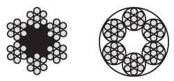 <b>DIN 3055 Трос</b> (канат) <b>стальной</b> в оплетке и без