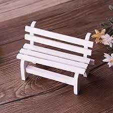 Vientiane Miniature <b>Garden Bench</b>, Miniature Garden Patio Furniture...