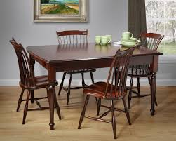 image of farmhouse style kitchen table and chairs amish country kitchen light