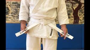 Как завязывать <b>пояс</b> на <b>кимоно</b>/кейкоги? 1-й вариант плоский узел