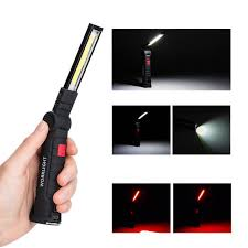 Outdoor Rechargeable Emergency <b>Light LED</b> Magnetic Torch <b>COB</b> ...