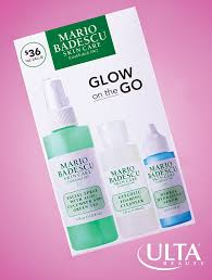 One kit, major glow. We can't get enough of <b>Mario Badescu</b>, full of no ...