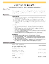 Example of customer service resume to inspire you how to create a good resume