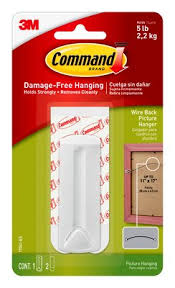 <b>Command</b>™ Wire-Back Picture Hanger White 1pk - <b>17041</b>