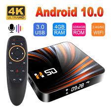 HONGTOP 2020 New Design <b>H50 TV Box Android</b> 10 4GB 32GB ...