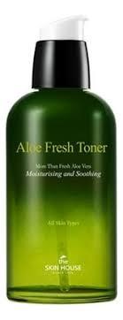<b>Успокаивающий тонер с экстрактом</b> алоэ Aloe Fresh Toner 130мл ...