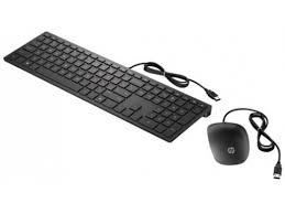Купить комплект Клавиатура + мышь <b>HP</b> 4CE97AA <b>Wired 400</b> ...