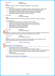 cv professional profile example resume writing resume examples cv professional profile example cv example templates cvtips why is this an effective admin and business