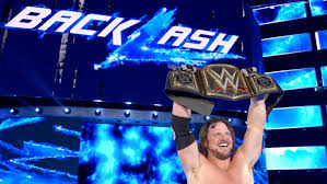 Image result for aj styles wwe champ