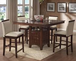tall dining chairs counter: counter height dining chairs coaster distress walnut counter height dining room set with wood accent chairs coaster with pastel color chair tall dining room