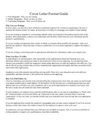 cover letter writing guide template cover letter writing guide