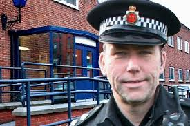 Middleton police station, the new base for officers in Middleton and Heywood with Inspector Gary Hall (inset) in charge of police in both towns. - Inspector%2520Gary%2520Hall