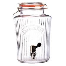 <b>Диспенсер для напитков</b> лимонадник с краном <b>vintage</b> 5 л, стекло ...