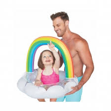 <b>Круг надувной детский BigMouth</b> Rainbow BMLF-0014-EU от ...