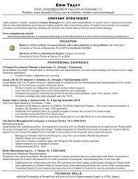 resume erin tracy s social media and content strategist e portfolio