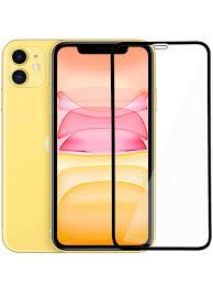 <b>Защитное стекло</b> TORUS <b>5D Full</b> Glue для Apple iPhone 11, черный