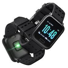 SM <b>gocomma</b> A6 Smartwatch dengan Monitor Detak Jantung untuk ...