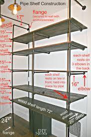 diy pipe shelf construction ashine lighting workshop 02022016p