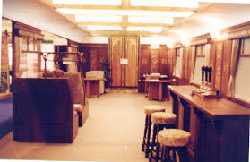 a stylish orient express style train carriage interior link to art deco art deco office