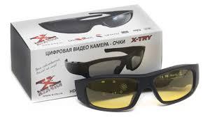 Обзор <b>очков</b> со встроенной видеокамерой <b>X</b>-<b>TRY</b> XTG100 HD ...