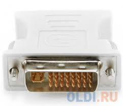 <b>Переходник</b> DVI-VGA <b>Cablexpert</b> A-DVI-VGA — купить по лучшей ...