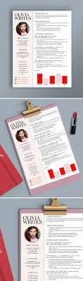 best ideas about resume writer professional fully editable modern feminine reacutesumeacute template design beauty editor fashion editor writer