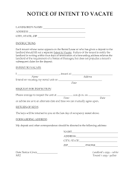 resume template moving out notice template lease termination resume template best photos of vacating apartment letter landlord notice to moving out