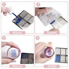 BeautyBigBang XL 01 <b>Stainless Steel</b> Nail Stamping For <b>Nail Polish</b> ...