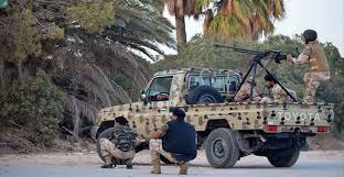 ليبيا - نشوب معارك في مدينة بنغازي ومقتل جنود من الجيش الوطني