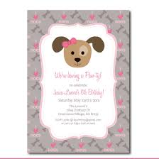 puppy party invitation editable text dog party 🔎zoom
