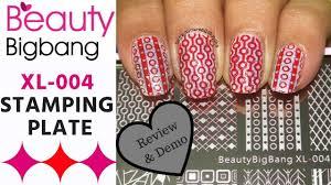 <b>Beauty Bigbang</b> XL-004 Nail <b>Stamping Plate</b> | Review & Demo ...