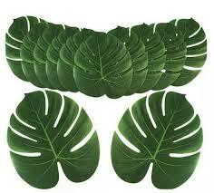 """<b>24pcs</b> 8"""" 13"""" <b>Artificial</b> Tropical Palm <b>Leaves</b> Simulation <b>Leaf</b> For ..."""